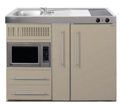 MPM 120 A Zand met koelkast, apothekerskast en magnetron RAI-9543