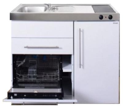 MPGS 120 Wit met vaatwasser en koelkast RAI-9592