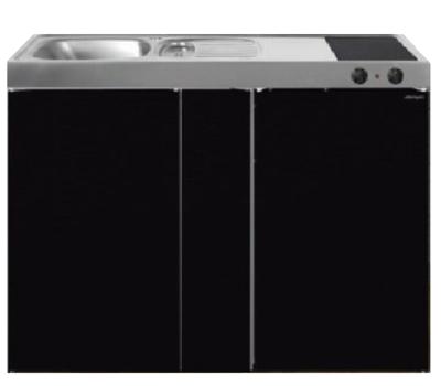 MK 120B Zwart metalic met koelkast  RAI-9536