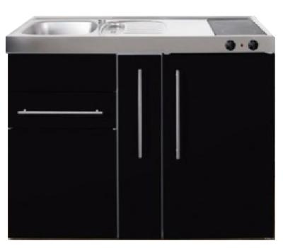 MP 120A zwart metalic met apothekers la en koelkast RAI-9516