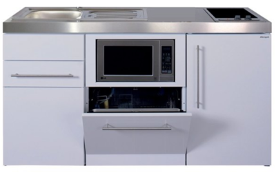 MPGSM 160 Wit met koelkast, vaatwasser en magnetron  RAI-981