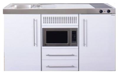 MPM 150 Wit met koelkast en magnetron RAI-951