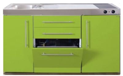 MPGS 150 Groen met vaatwasser en koelkast RAI-9541