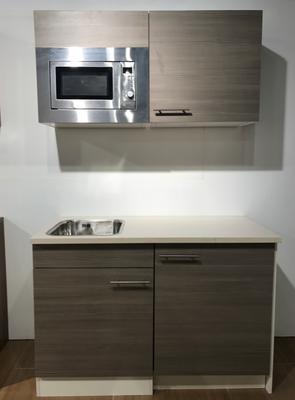Voorgemonteerde kitchenette 120cm incl apparatuur
