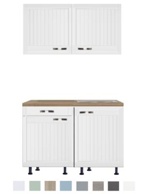 Keukenblok 100 Karat Klassiek met een la en wandkasten RAI-918