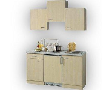 Kitchenette Levanzo Berken Hout 150 cm RAI-5399