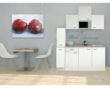 Kitchenette Wit 180cm HRG-5569