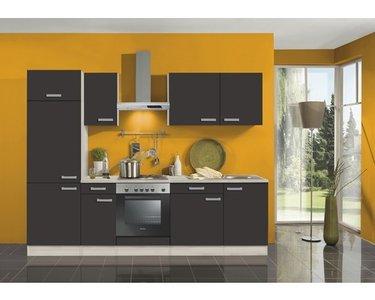 Keuken Faro Antraciet 270cm OPTI-1199