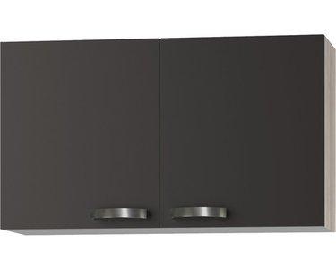 Wandkast Faro Antraciet  (BxHxD) 100,0x57,6x34,6 cm O106-9-437