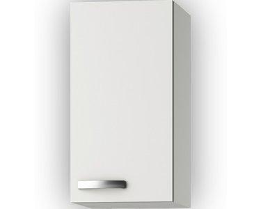 Wandkast Lagos White Glans (BxHxD) 30 x 57,6 x 34,6 cm OPTI-241