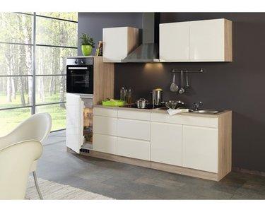 Keuken Greeploos crème 270cm HD-1500