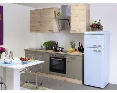 Keuken Riva licht eiken 220cm HRG-1139