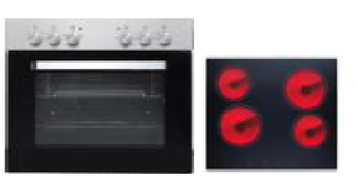Oven kookplaat combinatie KIT-197