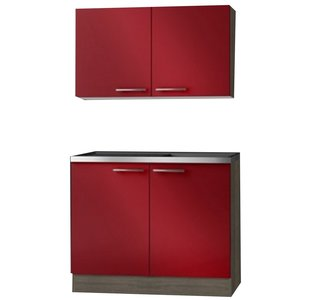 Imola keukenblok en bovenkast 100cm OPTI-2103