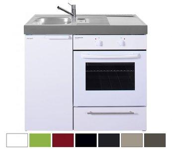 MKB 100 Wit met  oven RAI-95411
