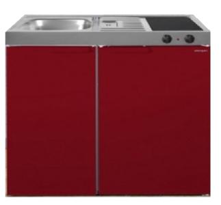 MK 90 Bordeauxrood met koelkast  RAI-9512