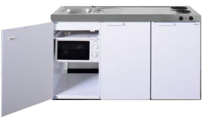 MKM 150 Wit met  losse magnetron en koelkast RAI-333