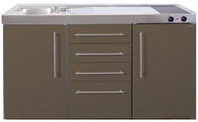 MPS4 150 Bruin met koelkast en 4 ladekasten RAI-9534