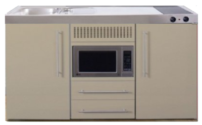 MPM 150 Zand met koelkast en magnetron RAI-950