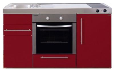 MPB 150 Rood met koelkast en oven RAI-934