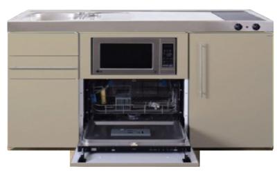 MPGSM 150 Zand kleurig met vaatwasser, koelkast en magnetron RAI-922