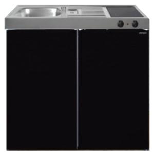 MK 100 Zwart Metalic met koelkast  RAI-9522