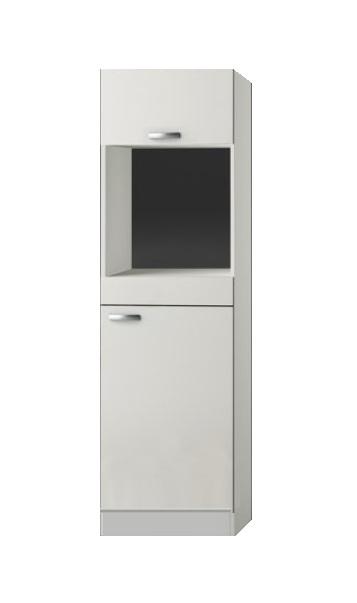 Ongekend Hogekast inbouw oven Lagos White Glans (BxHxD) 60 x 206,8 x 57,1 WE-95