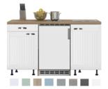 Keukenblok-150-Karat-Klassiek-incl-koelkast-en-kookplaat-RAI-913