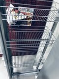 Apothekerskast Grijs mat met ijzeren laden 206 cm hoog RAI-554_