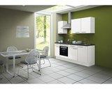 Kitchenette CONCEPT Bengt 210 cm wit incl. Ingebouwde apparaten RAI-4010_