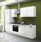 Kitchenette CONCEPT Bengt 270 cm wit incl. Ingebouwde apparaten RAI-0003_
