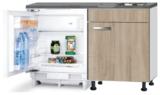 Kitchenette 120cm Padua incl inbouw koelkast RAI-048_