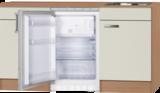 Kitchenette 150 cm cream incl koelkast ARG-224_