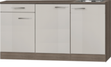 Keukenblok 150cm Beige met spoelbak RAI-442_