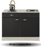 Keukenblok Antraciet 120cm RAI-510_