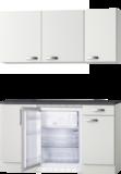 Kitchenette 120 CM incl koelkast en bovenkasten RAI-2258_