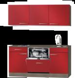 Kitchenette 180 cm met vaatwasser en kookplaat HRG-585_