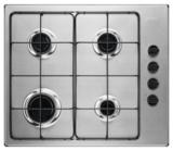 Keukenblok 200cm Antraciet incl gas-kookplaat, afzuigkap en magnetron RAI-11026_