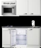 keukenblok 150cm met koelkast, wandkasten en magnetron RAI-9080_