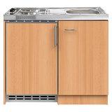 Pantry kitchenette 100 x 60 incl koelkast en e-kookplaat _