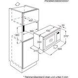 Zanussi inbouw magnetron ZBM26542XA_
