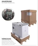 MPS4 150 Zwart metalic met koelkast en 4 ladekasten RAI-9538_