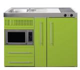 MPM 120 A Groen met koelkast, apothekerskast en magnetron RAI-9540_