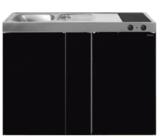 MK 120B Zwart metalic met koelkast  RAI-9536_