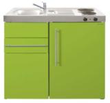 MK 90 Groen met koelkast en een la RAI-9512_