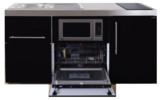 MPGSM 160 Zwart metallic met koelkast, vaatwasser en magnetron  RAI-983_