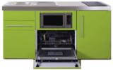 MPGSM 160 Groen met koelkast, vaatwasser en magnetron  RAI-987_