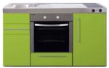 MPB 150 Groen met koelkast en oven RAI-935_