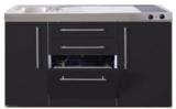 MPGS 150 Zwart mat met vaatwasser en koelkast RAI-9543_