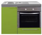 MKB 100 Groen met  oven RAI-9546_